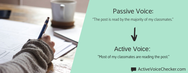 passive and active voice detector free