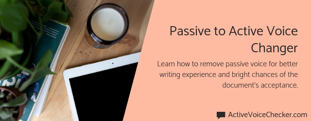 passive to active voice changer online